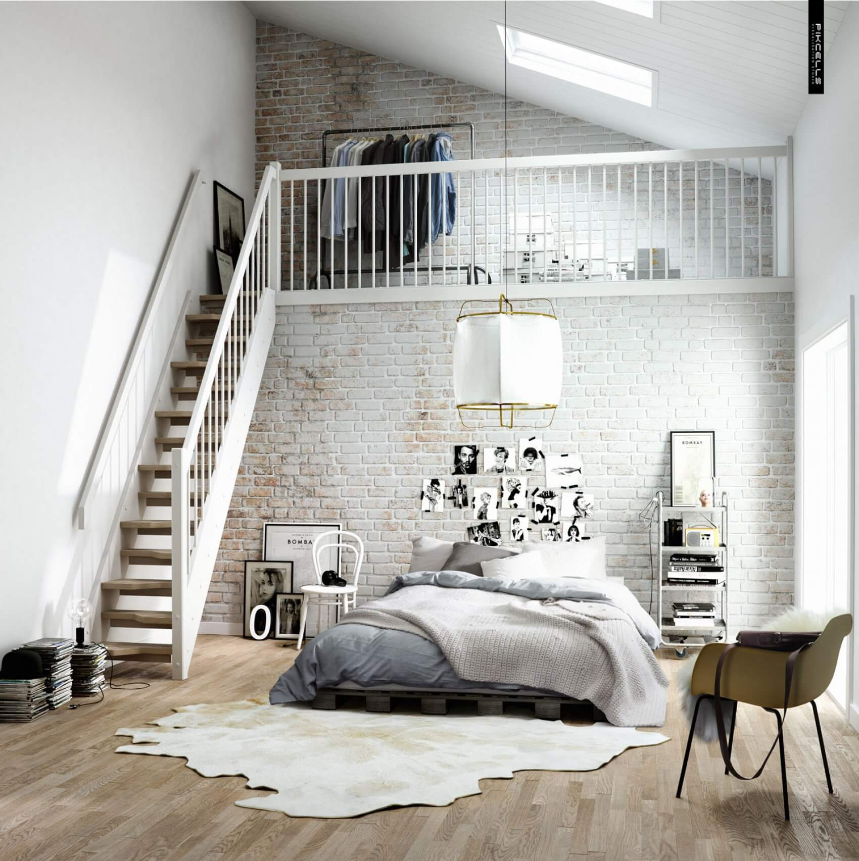 We Love White Brick