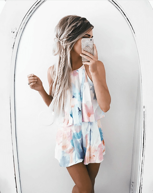 Double Layered Mini Dress To Show Off Your Tan