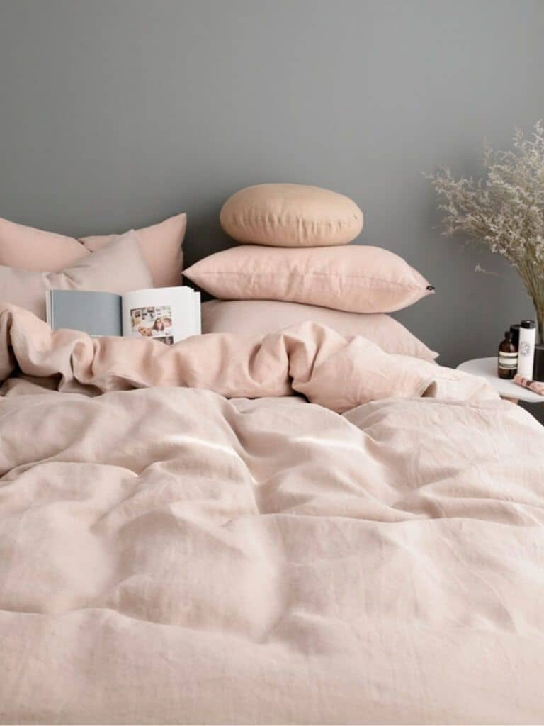 Powder Pink Hues Combined Together