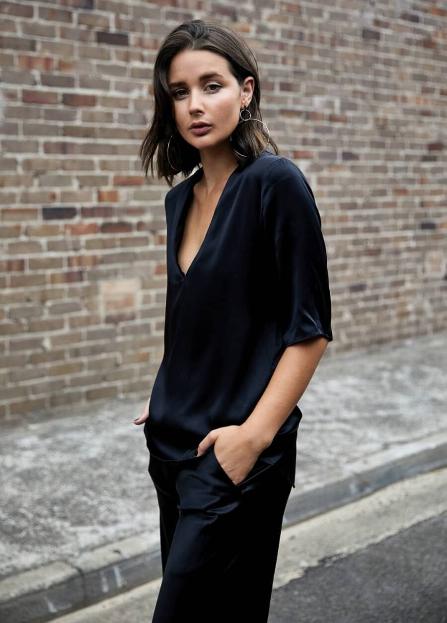 Never Enough Black Silk