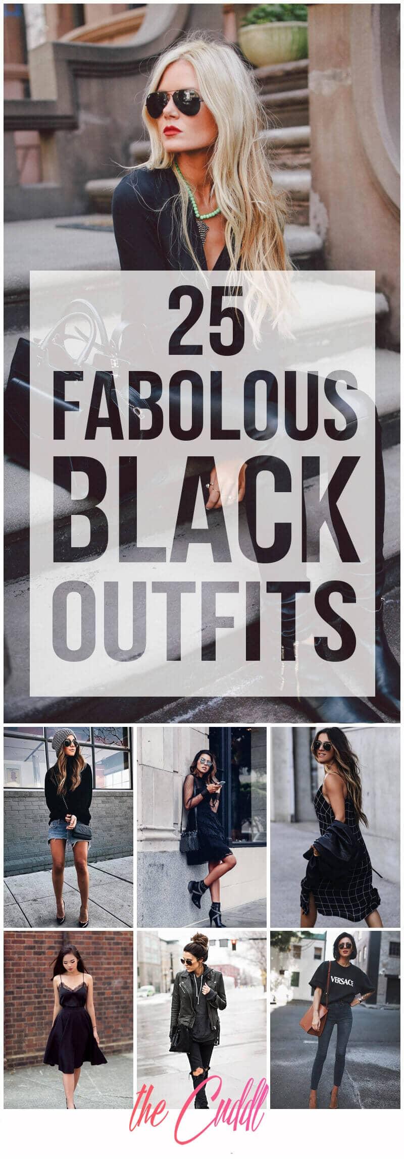 25 Fabolous Black Outfits