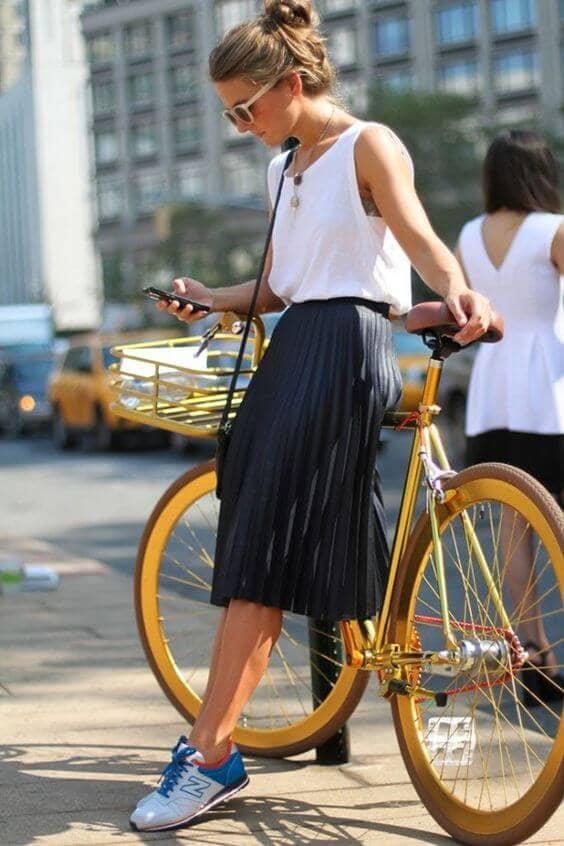 Skirt And Tenni Combo
