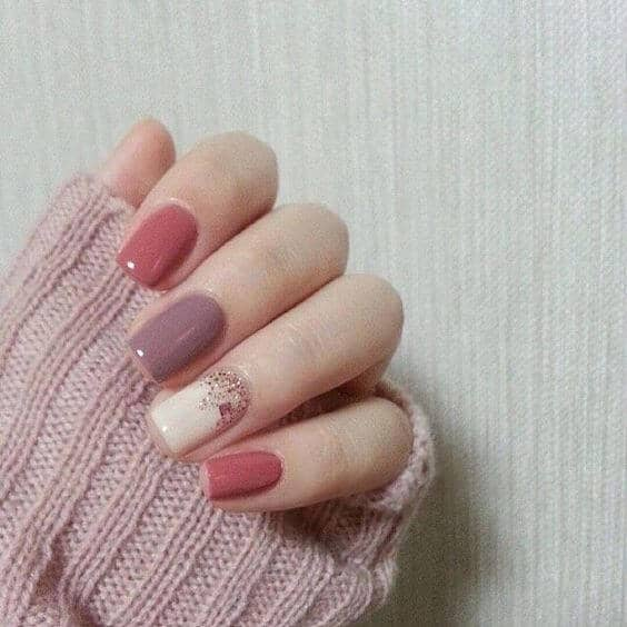 Using Pale Tones To Offset Some Glitter