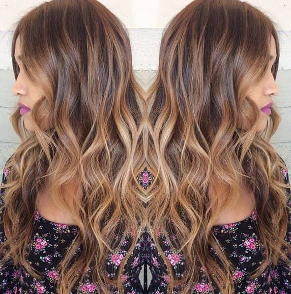 Colorful Tresses with Tips