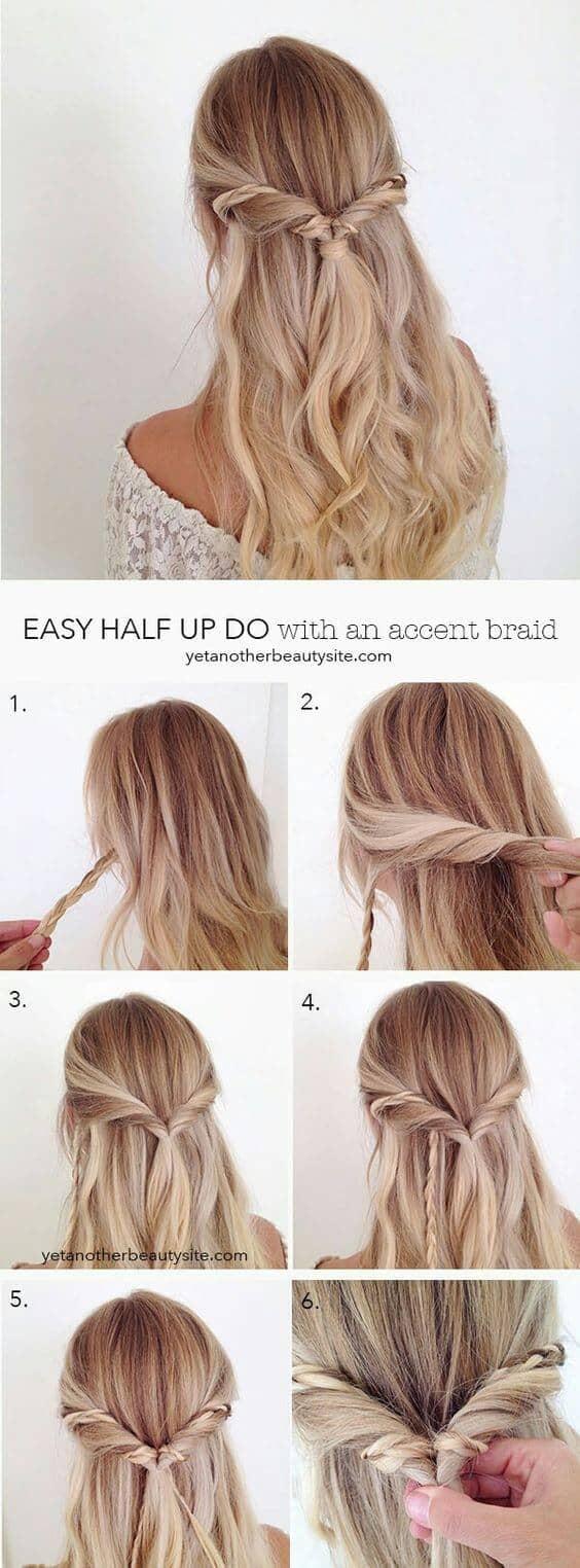 Half Hair Braid Wrap