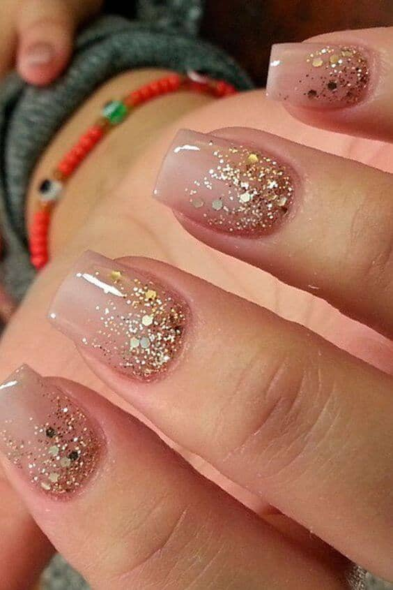 An Ombre Confetti Glitter Is Stunning