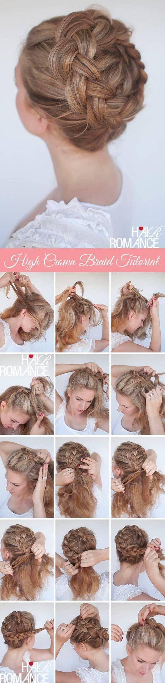 Round Crown Braid