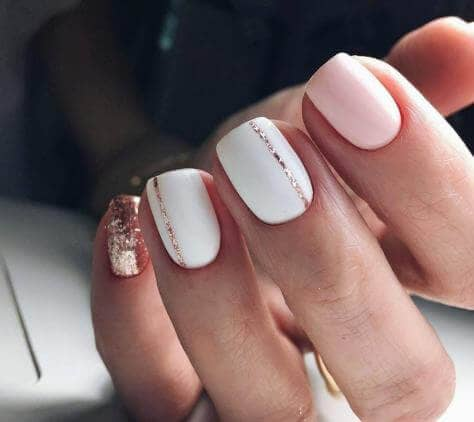Dusting Off the Accent Nails
