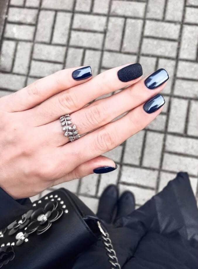 Black, Black, Black and Blue