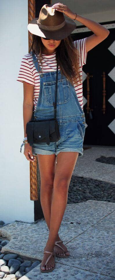 Another Out-the-Box Look in Overalls
