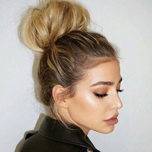 Ton of Fun Top Knot