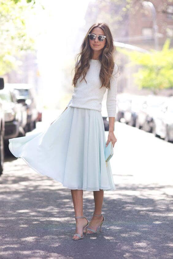 A Light And Flirty Spring Outfit