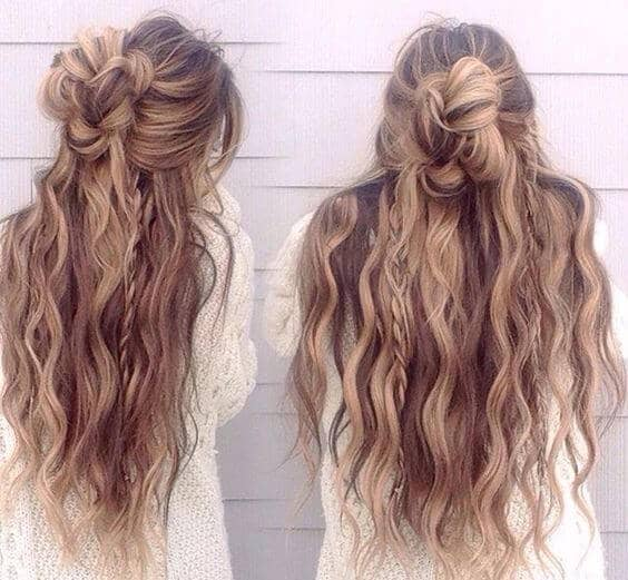 Flowing Braids and Waves