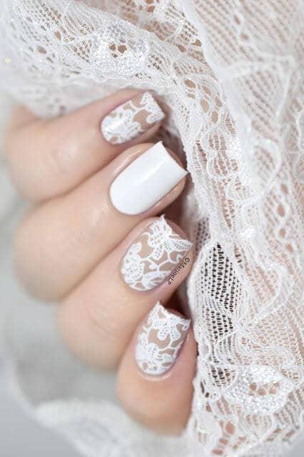 White Lace Nail Polish