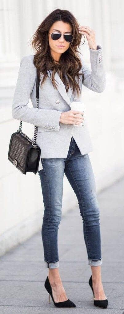 Classy And Casual All In One Look