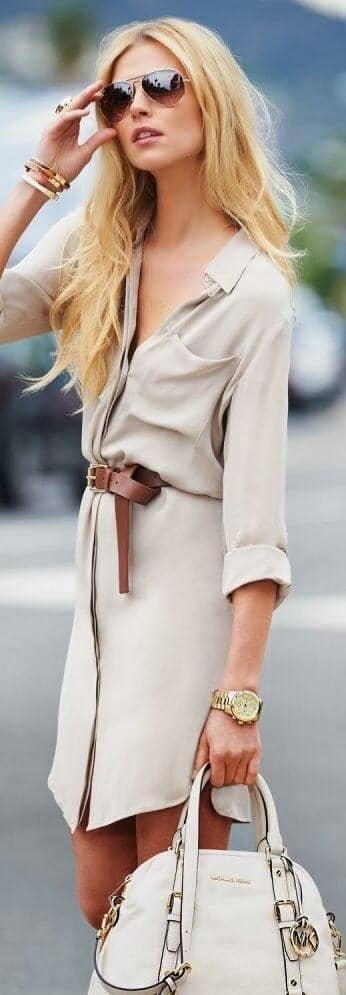 Traditional Twist To The Belted Sundress