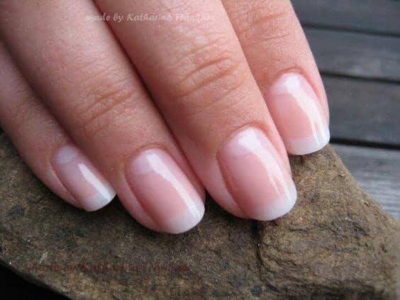 French Nail Manicure for Brides