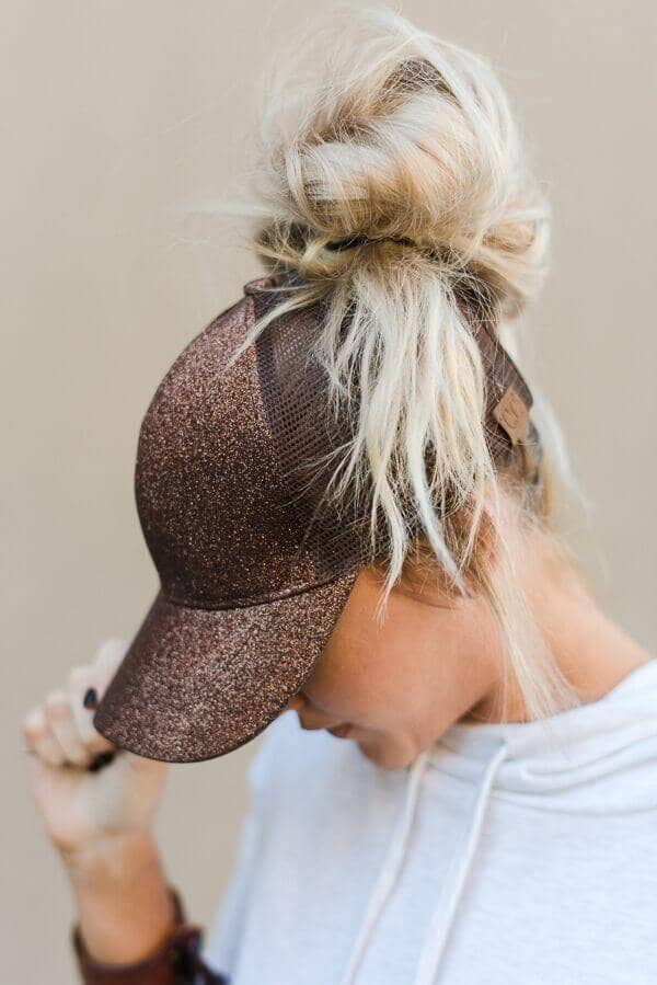 Fun Bun with a Baseball Hat