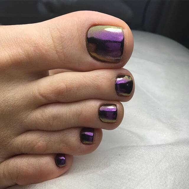 Gorgeous with a beautiful shade of Purple