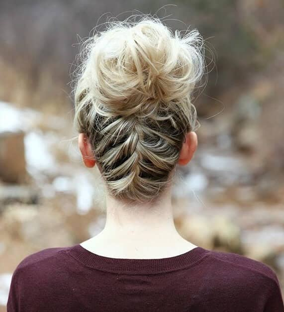 Cool Hairstyle with a French Braid