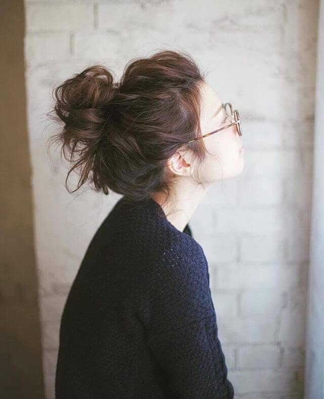 Hair Bun for a Day Off