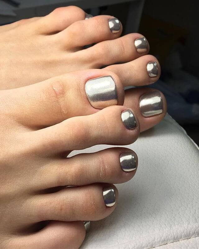 Not Silver Spoons Only Your Toes