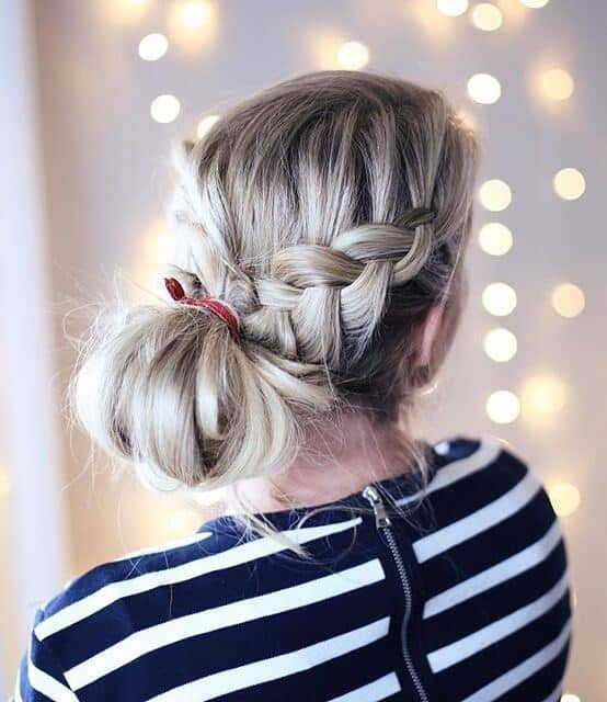Gorgeous Dutch braid