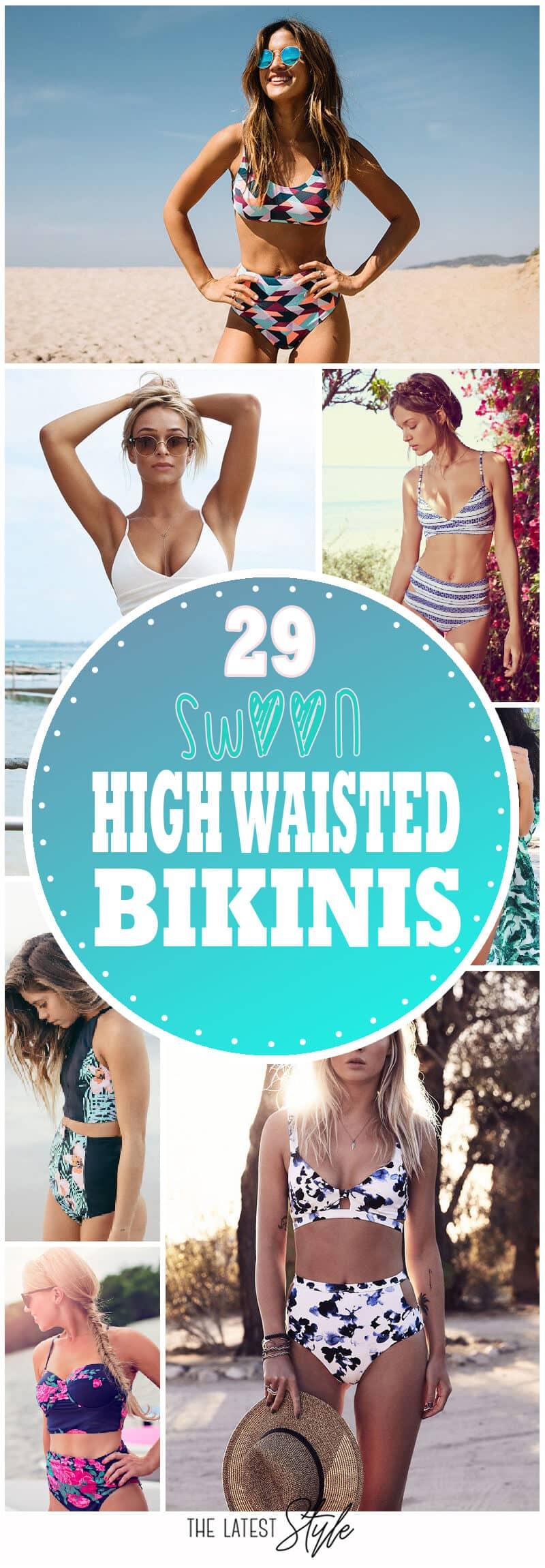 29 Swoon High Waisted Bikini Ideas