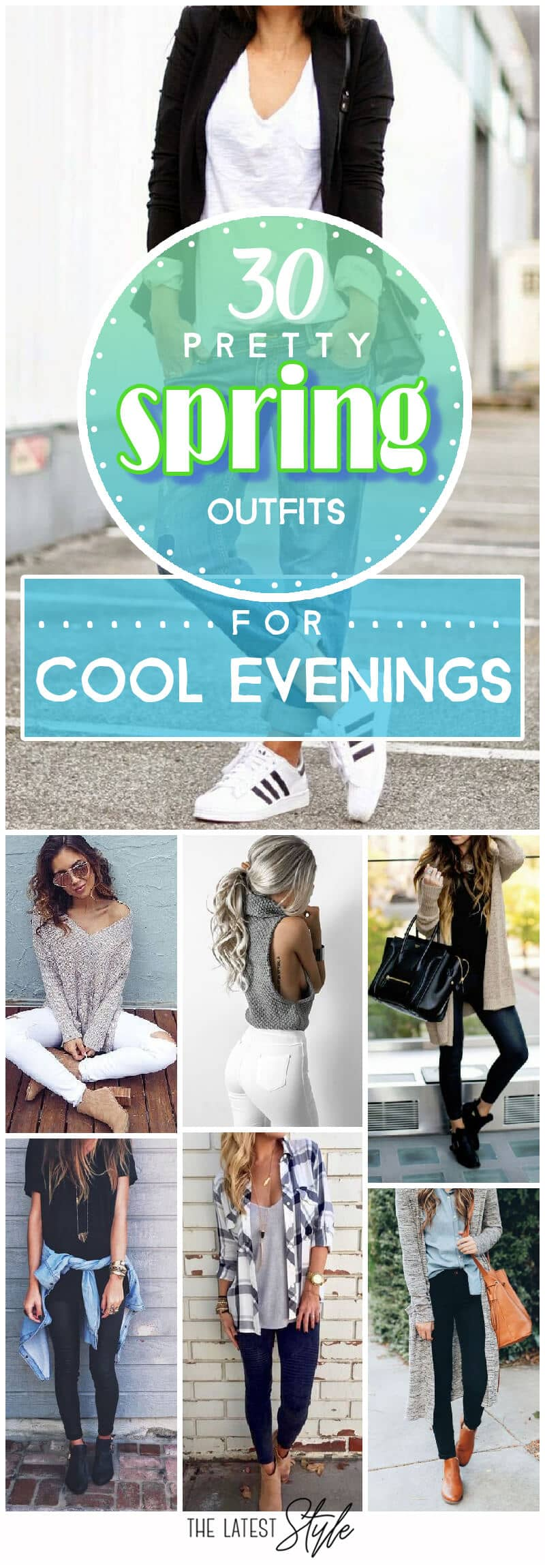 Spring Outfits for Cold Nights