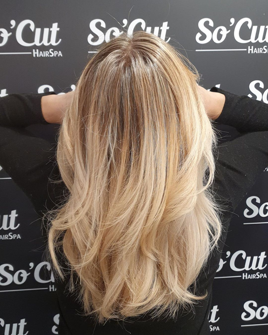 Ombre Layered Hair for a Breezy and Elegant Look