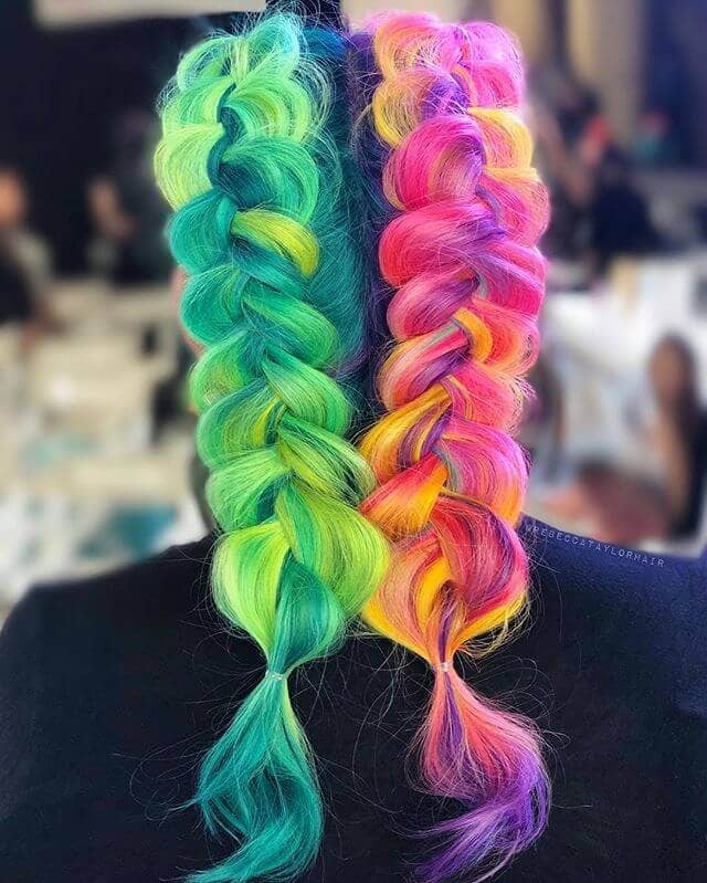 Two Sides to This Unicorn Hair Story