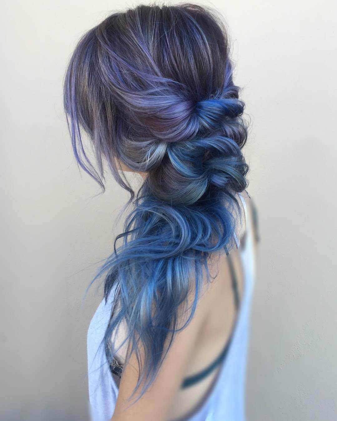 Mermaid Hair in Cool Colors