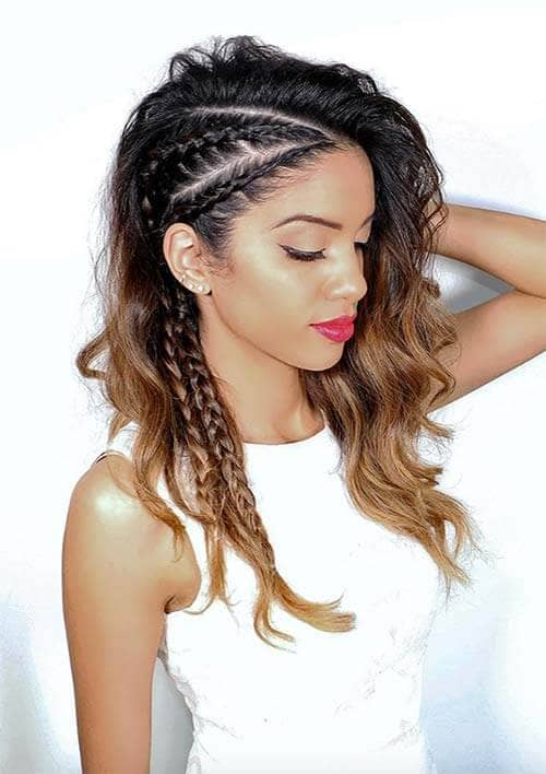 Two stylish twists on the side