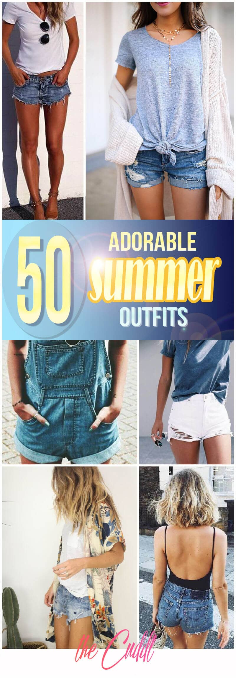 50 Adorable Summer Outfits