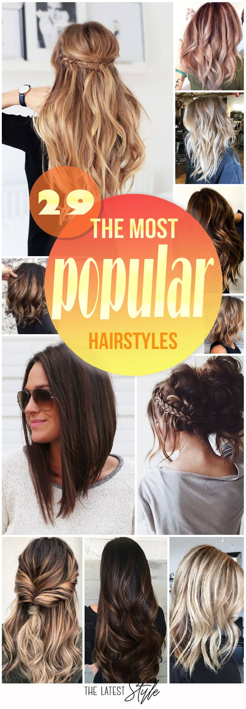 The 10 Most Popular Hairstyles