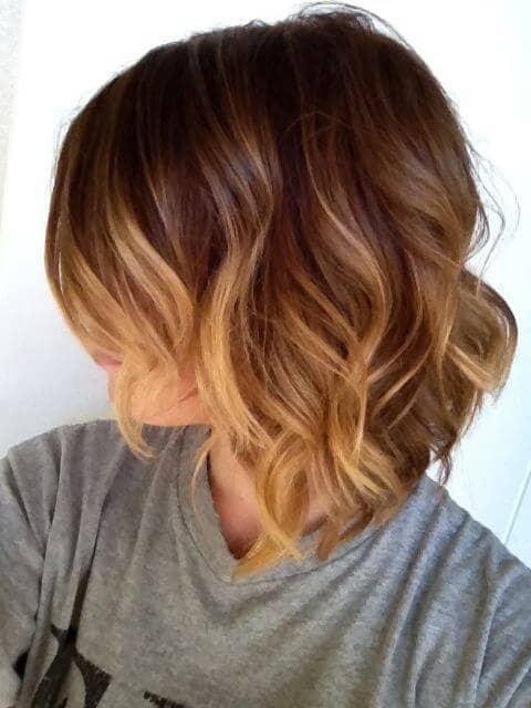 Cute Simple Wavy Haircut Style