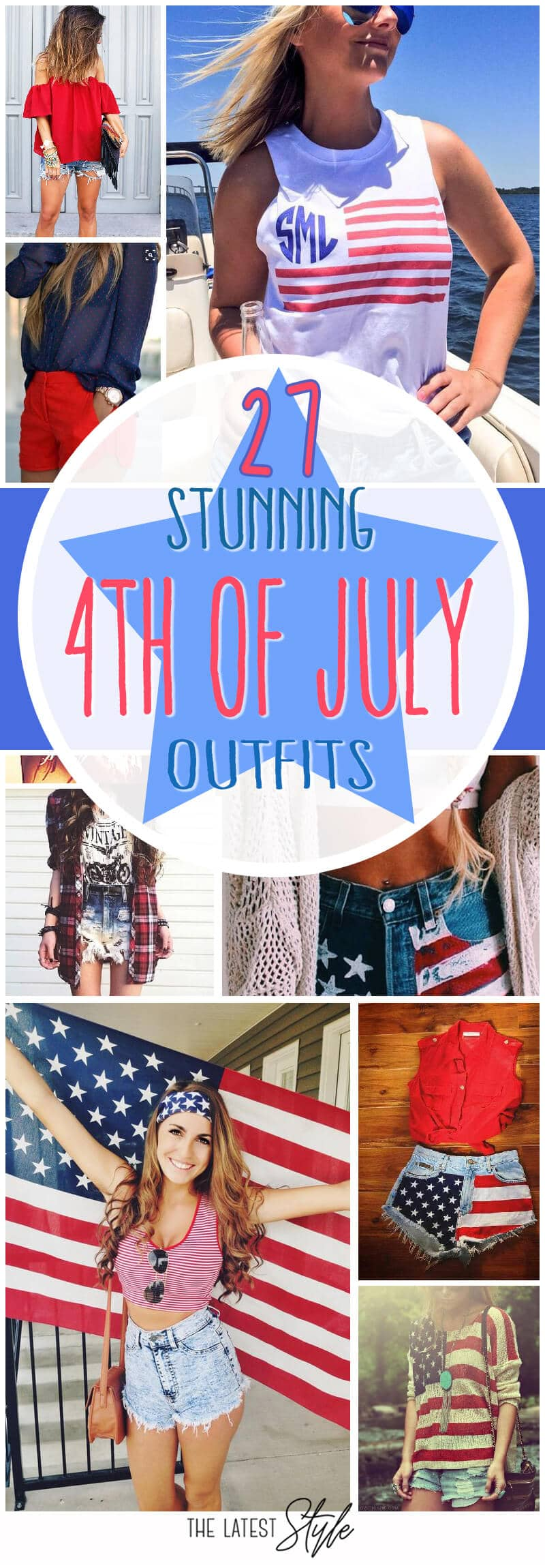 27 Stunning 4th Of July Outfit Ideas