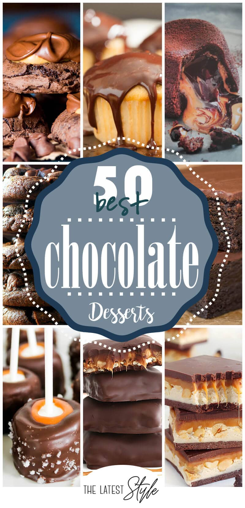 50 Heavenly Chocolate Dessert Recipes that will Become Your New Favorites