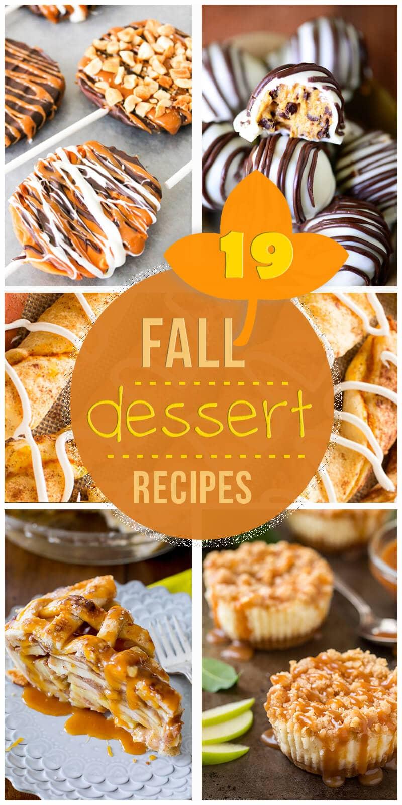 19 Soul-Satisfying Fall Dessert Recipes