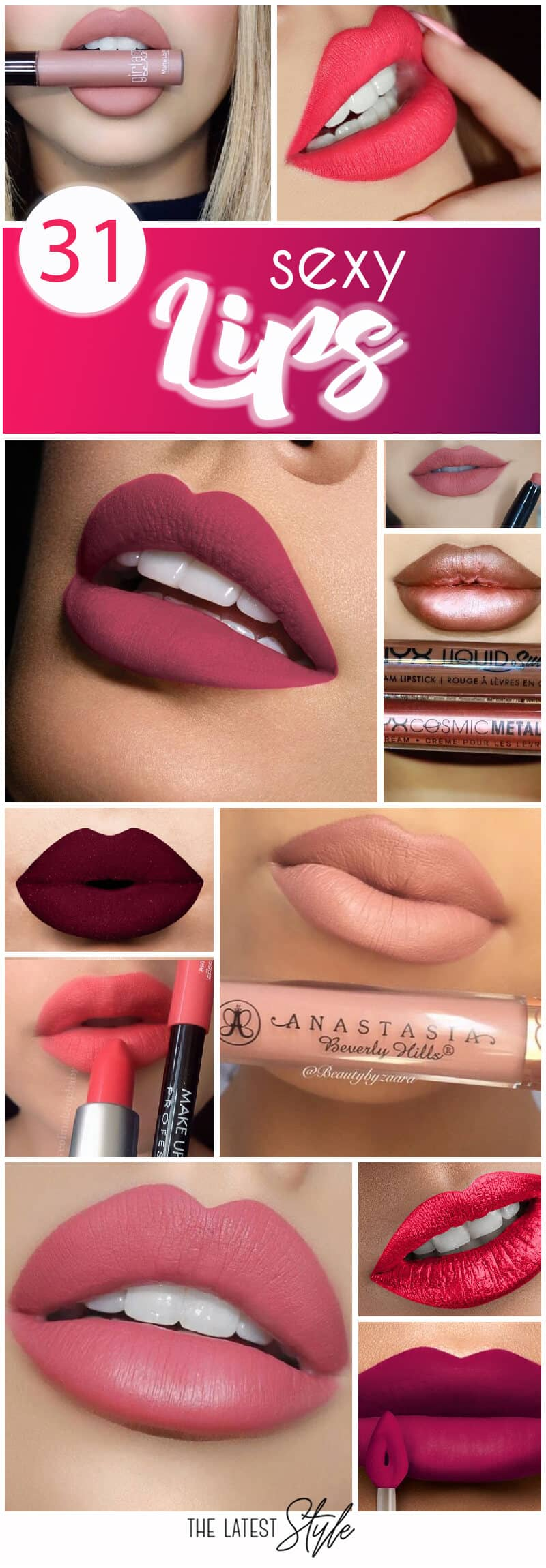 31 Super Sexy Lips Inspirations