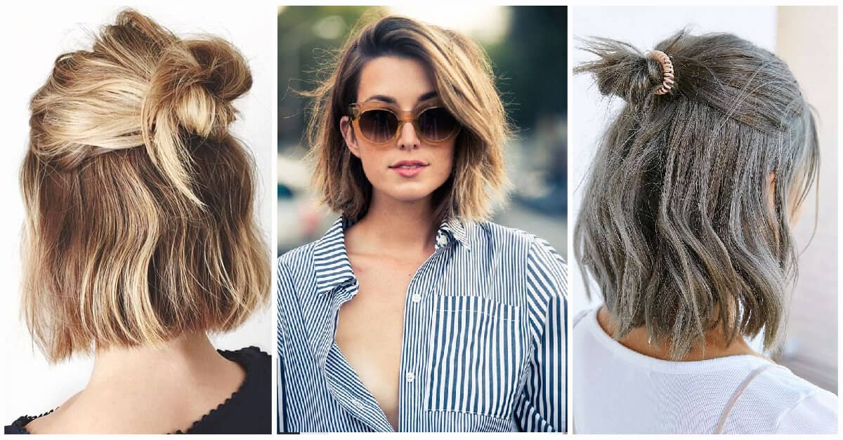 43 Gorgeous Short Hairstyles To Let