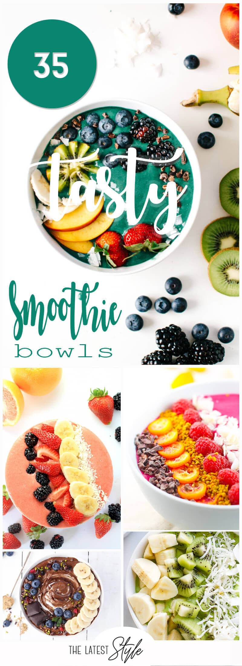 35 Tasty Smoothie Bowl Recipes that You can Easily Make at Home