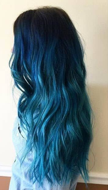 Blue Tresses For Your Lover