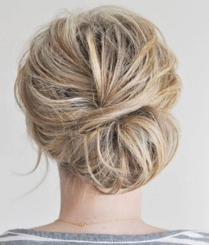 Romantic Easy Hairstyle With a Twist