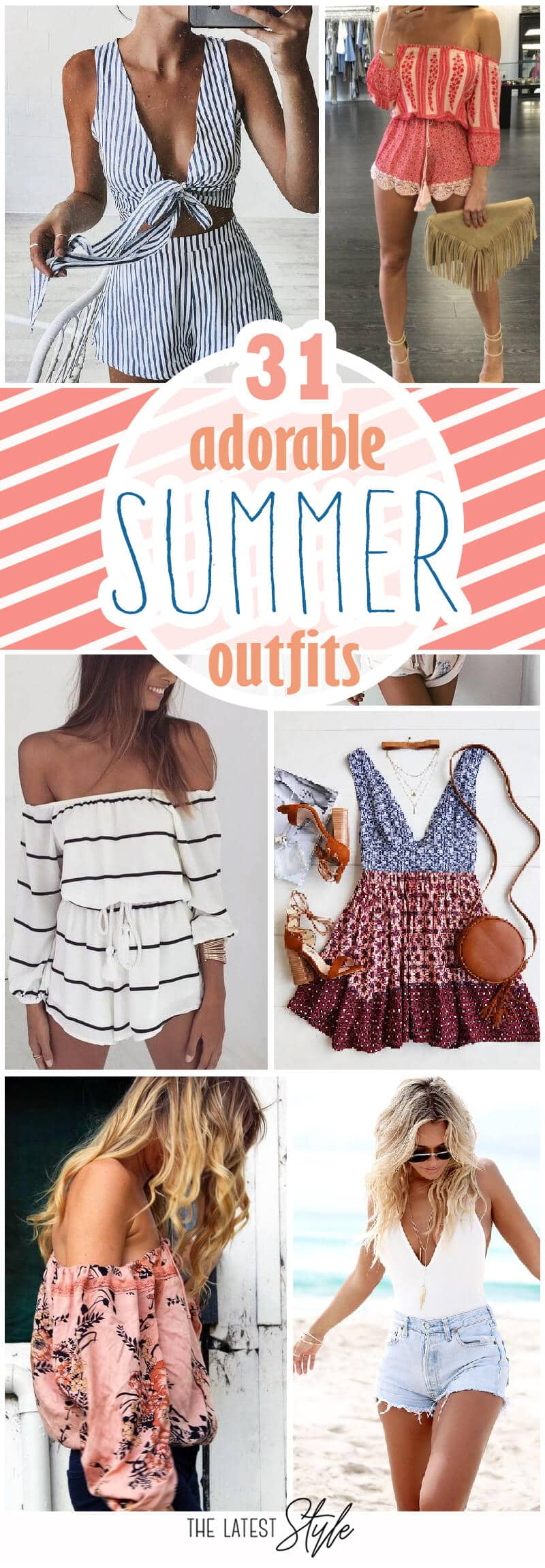 31 Adorable Summer Outfit Inspirations