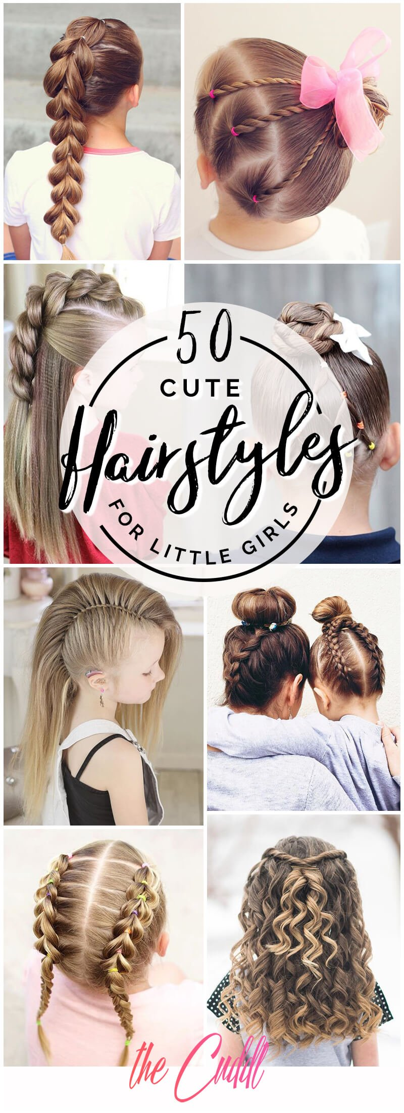 10 Pretty Perfect Cute Hairstyles for Little Girls to Show Off