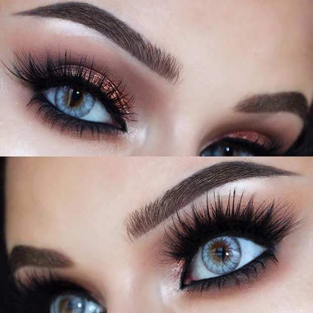 Crazy Thick Lashes and Under-eye Shadow