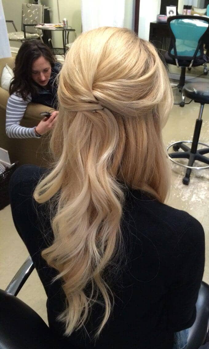 Half-up Half-down Hairstyle Chicness