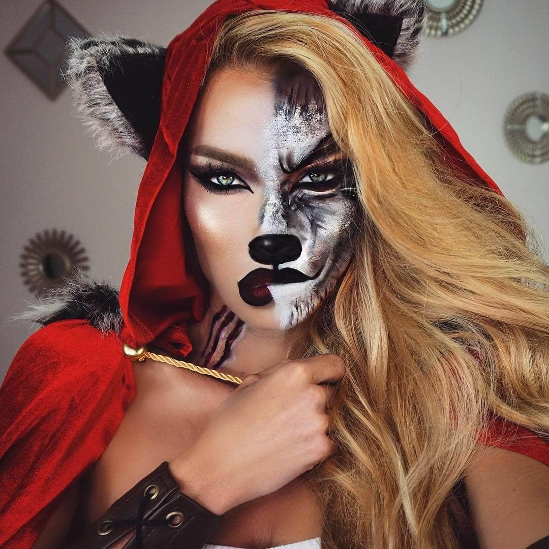 If little Red Riding-Hood Had Grown Up to Be a Seductive Man-Eating Werewolf
