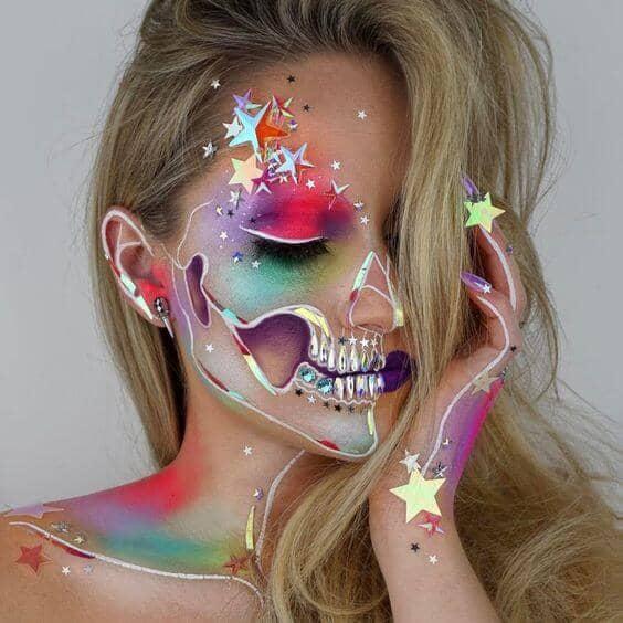 Neon Skeleton Soul